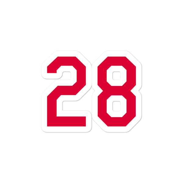 Corey Kluber #28 Sticker