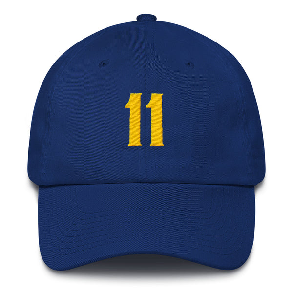 Klay Thompson #11 Dad Hat-Player Number Hat-Coverage Gear