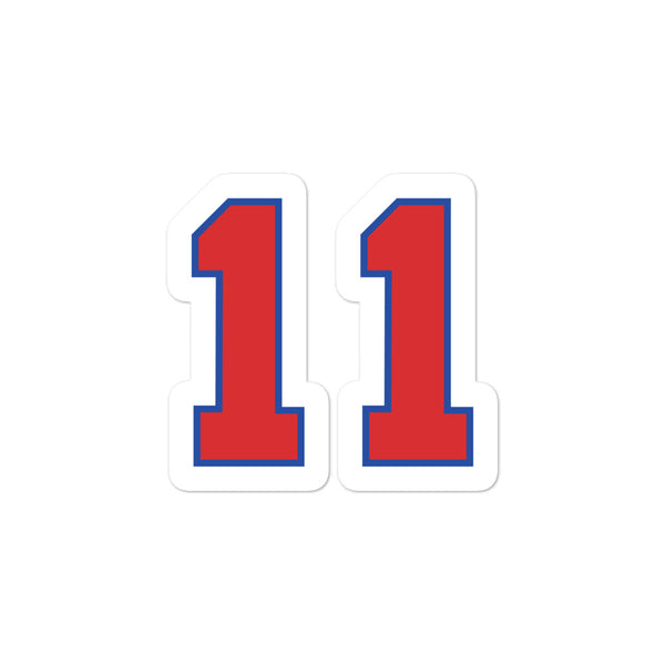 Elvin Hayes #11 Sticker