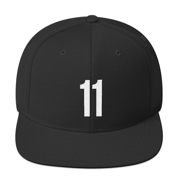 Kyrie Irving #11 Snapback Flat Bill-Player Number Hat-Coverage Gear