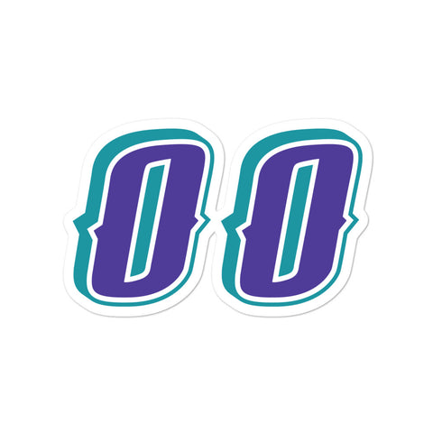Greg Ostertag #00 Sticker