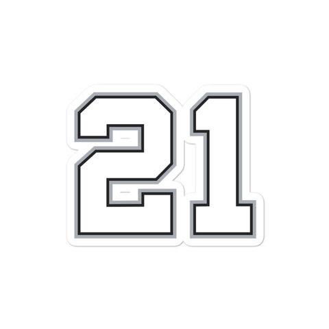 Tim Duncan #21 Sticker