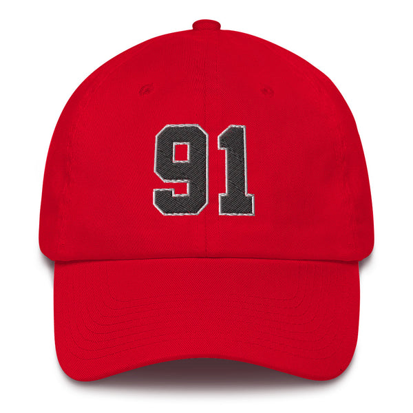 Dennis Rodman #91 Dad Hat-Player Number Hat-Coverage Gear