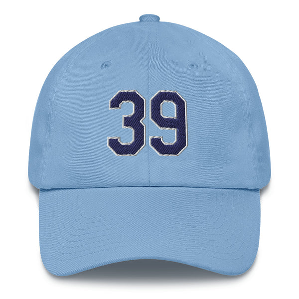Kevin Kiermaier #39 Dad Hat-Player Number Hat-Coverage Gear