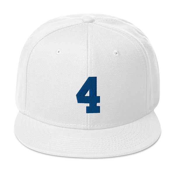 Dak Prescott #4 Snapback Hat-Player Number Hat-Coverage Gear