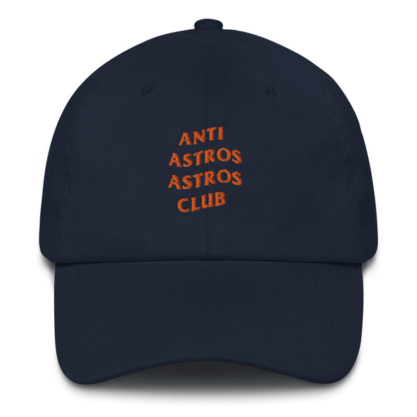 Anti Astros Astros Club Dad Hat