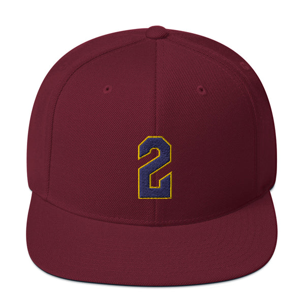 Colin Sexton #2 Snapback Hat-Player Number Hat-Coverage Gear
