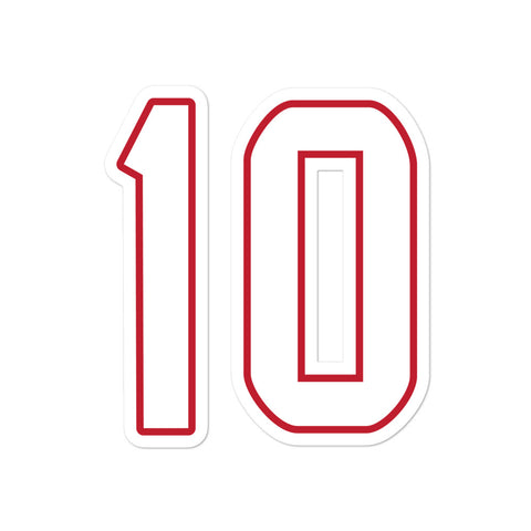 Deandre Hopkins #10 Sticker