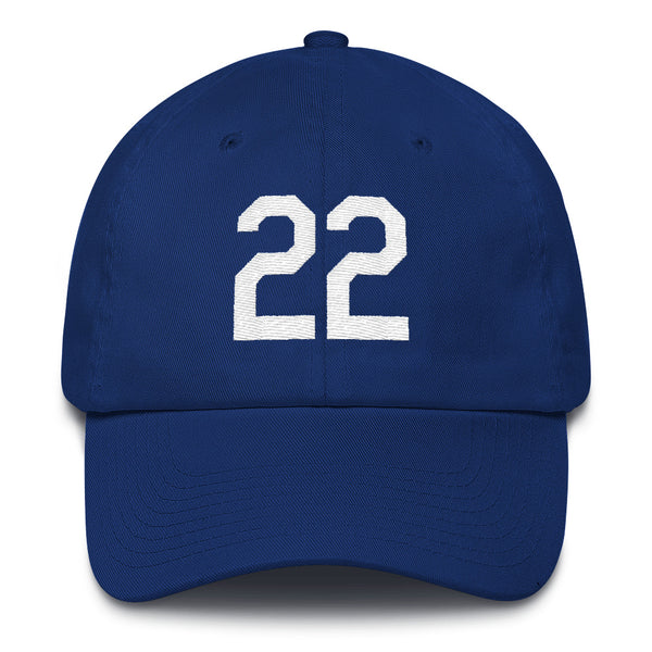 Clayton Kershaw #22 Dad Hat-Player Number Hat-Coverage Gear