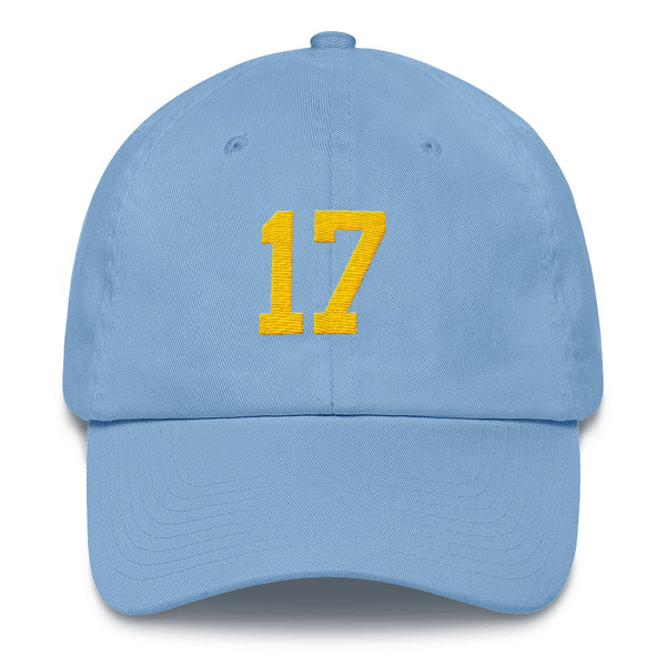 Philip Rivers #17 Dad Hat-Player Number Hat-Coverage Gear