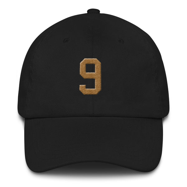 Drew Brees #9 Dad Hat-Player Number Hat-Coverage Gear