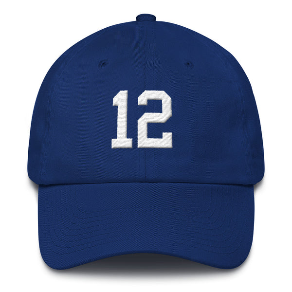 Andrew Luck #12 Dad Hat-Player Number Hat-Coverage Gear