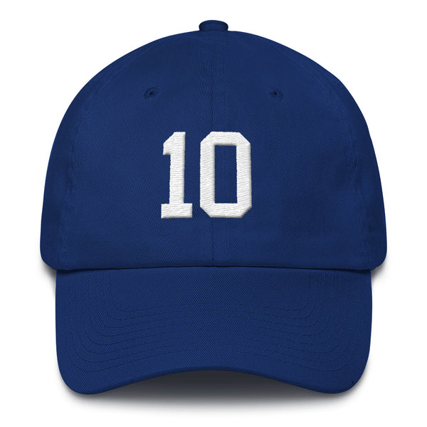 Eli Manning #10 Dad Hat-Player Number Hat-Coverage Gear