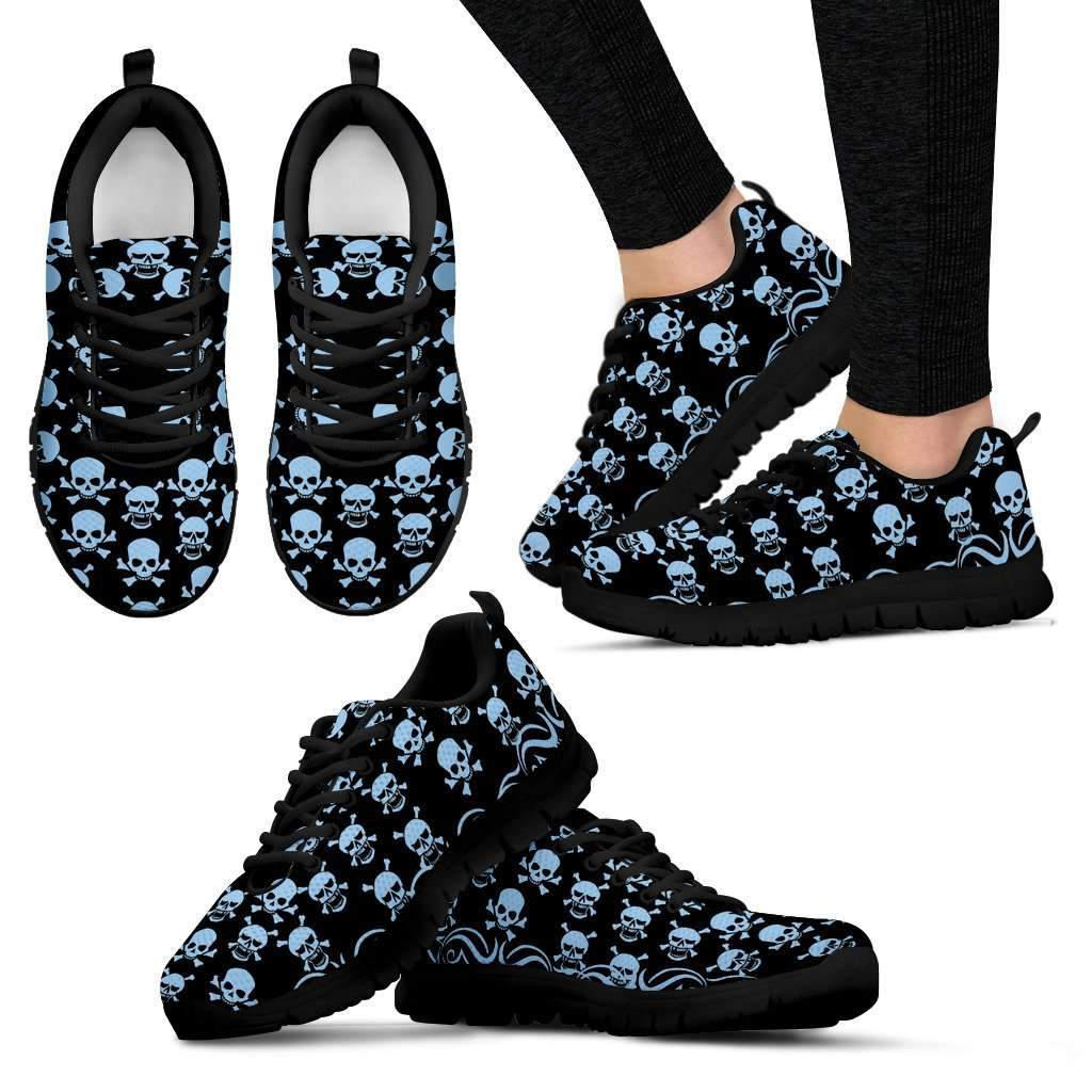 Printed Skull Sneakers Umisfashion Store