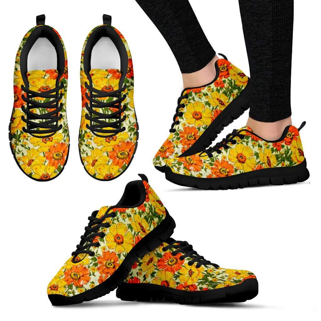 Orange Buttercup Women's Sneakers Umisfashion Store
