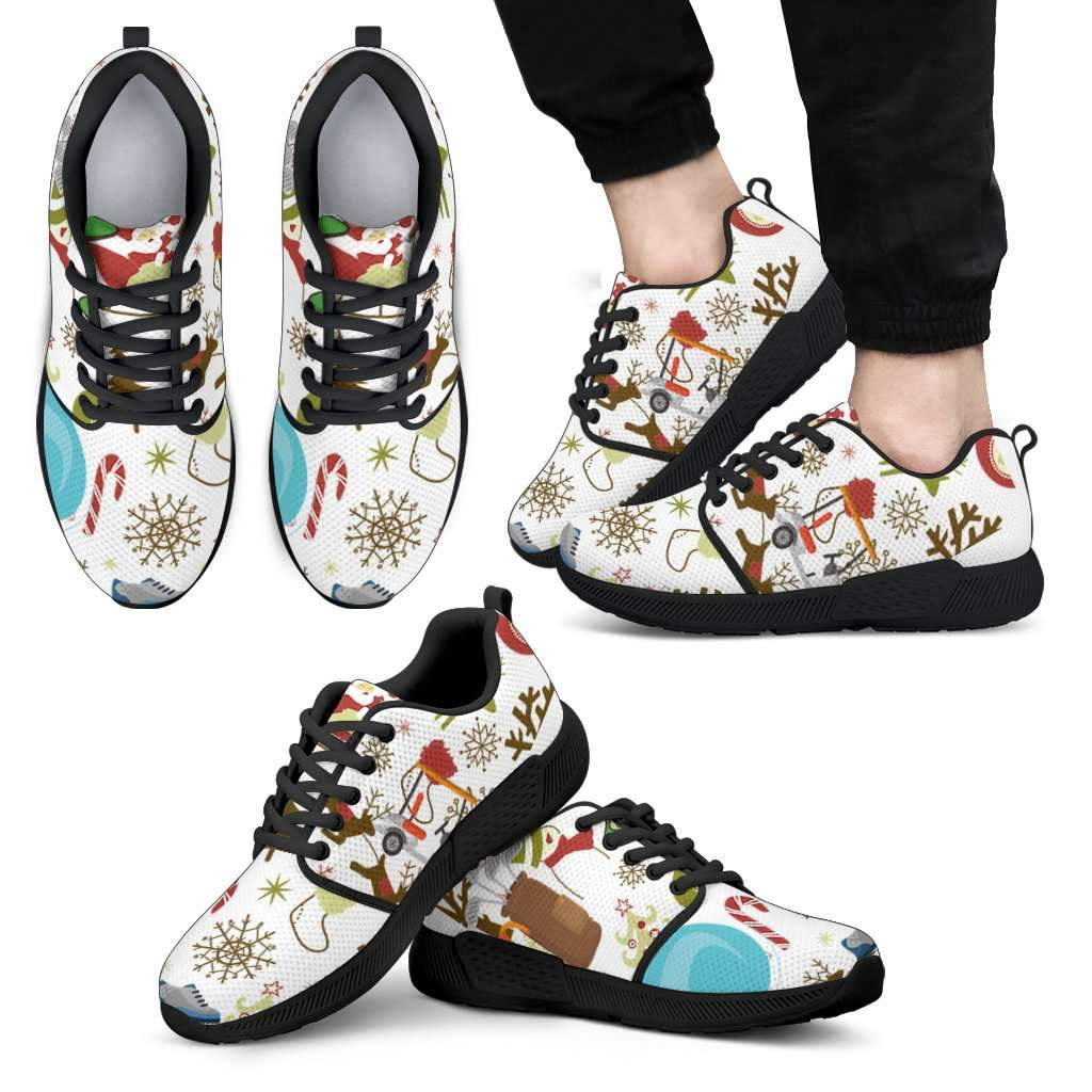 Christmas men's sneakers Umisfashion Store