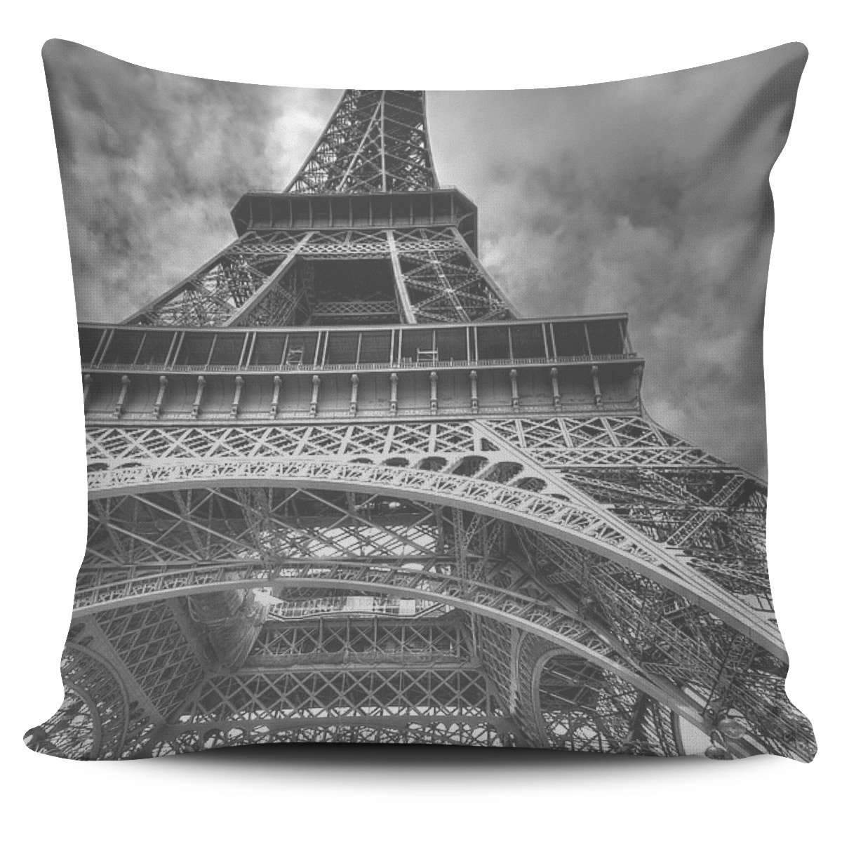 Paris - The Eiffel Tower Pillow Cover Umisfashion Store