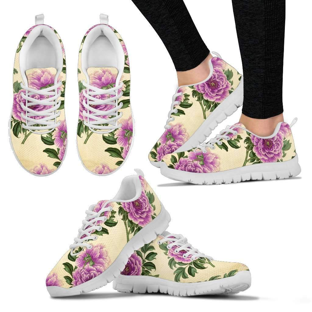 Floral Vintage Women's Sneaker Umisfashion Store
