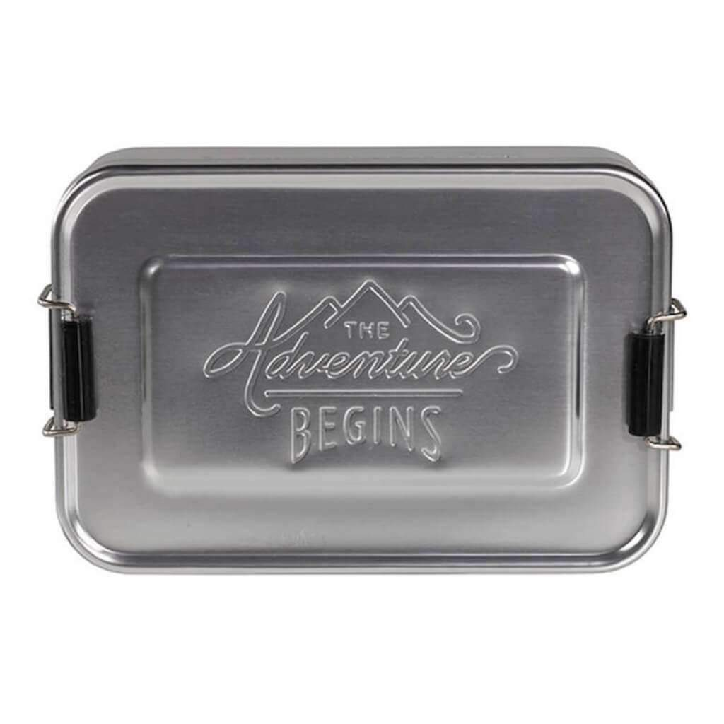 LARGE ALUMINIUM LUNCH BOX TIN Umisfashion Store