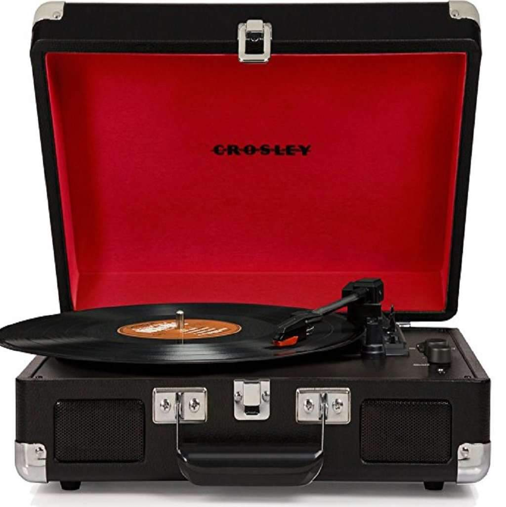 Crosley Cruiser Deluxe Vintage Suitcase Turntable Home & Living Umisfashion Store