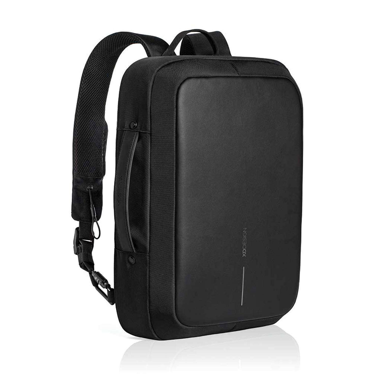 XD Design Bobby Bizz Anti-Theft Unisex Laptop Backpack with USB Accessories Umisfashion Store