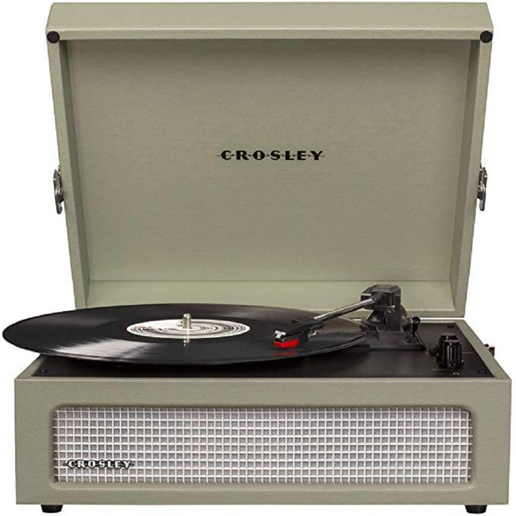 Crosley CR8017A-SA Voyager Vintage Portable Turntable Home & Living Umisfashion Store