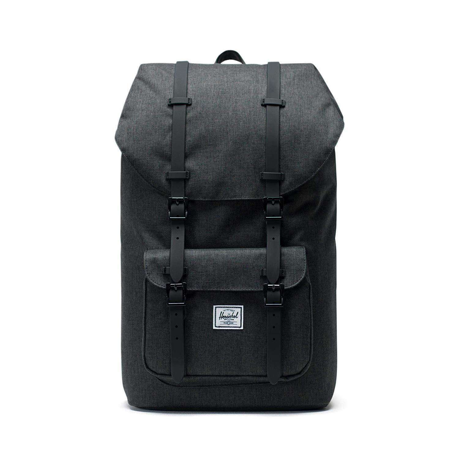 Herschel Little America Backpack Crosshatch/Black Umisfashion Store
