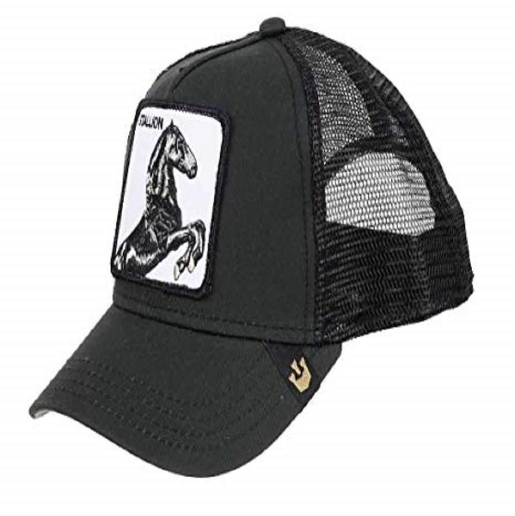 9cf567de Goorin Men's Animal Farm Adjustable Brown Trucker Hat - 'Black Horse'  Accessories Umisfashion Store