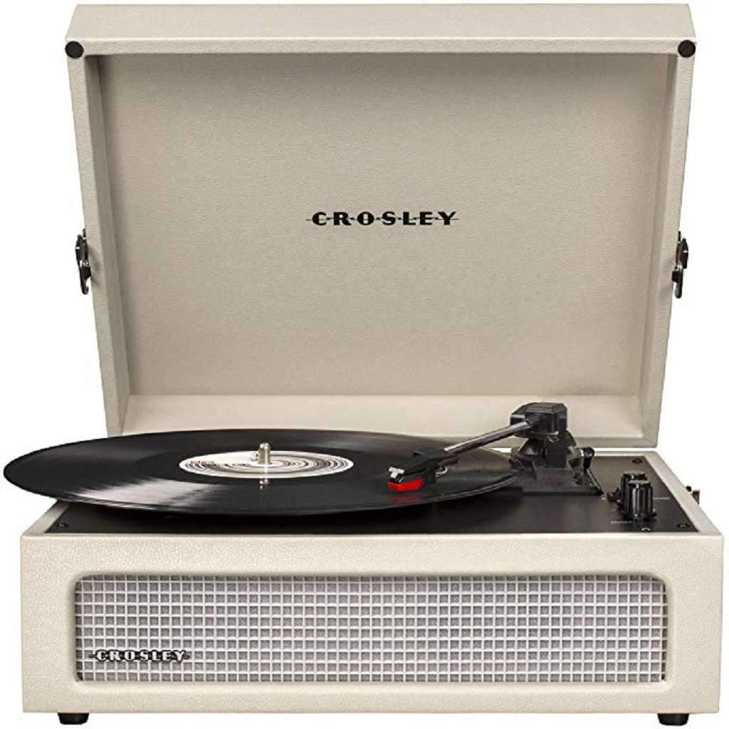 Crosley CR8017A-DU Voyager Vintage Portable Turntable Home & Living Umisfashion Store