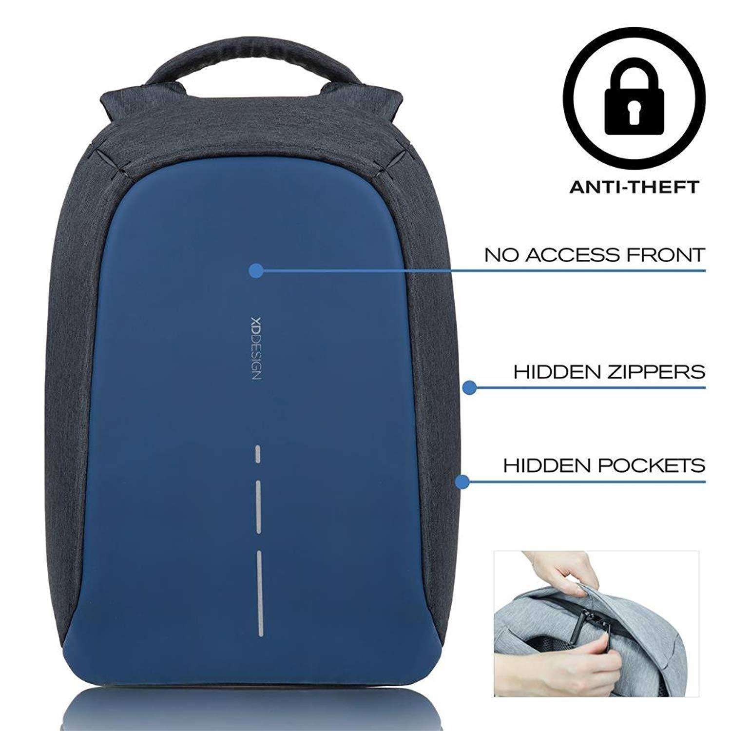 XD Design Bobby Compact Anti Theft Laptop Backpack Unisex Bag Accessories Umisfashion Store