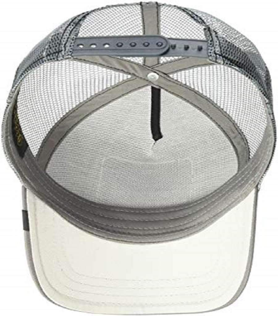 Goorin Men's Animal Farm Adjustable Brown Trucker Hat - 'Silver Fox' Accessories Umisfashion Store