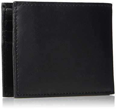Calvin Klein Men's Leather Bifold Wallet with Key Fob Leather Umisfashion Store