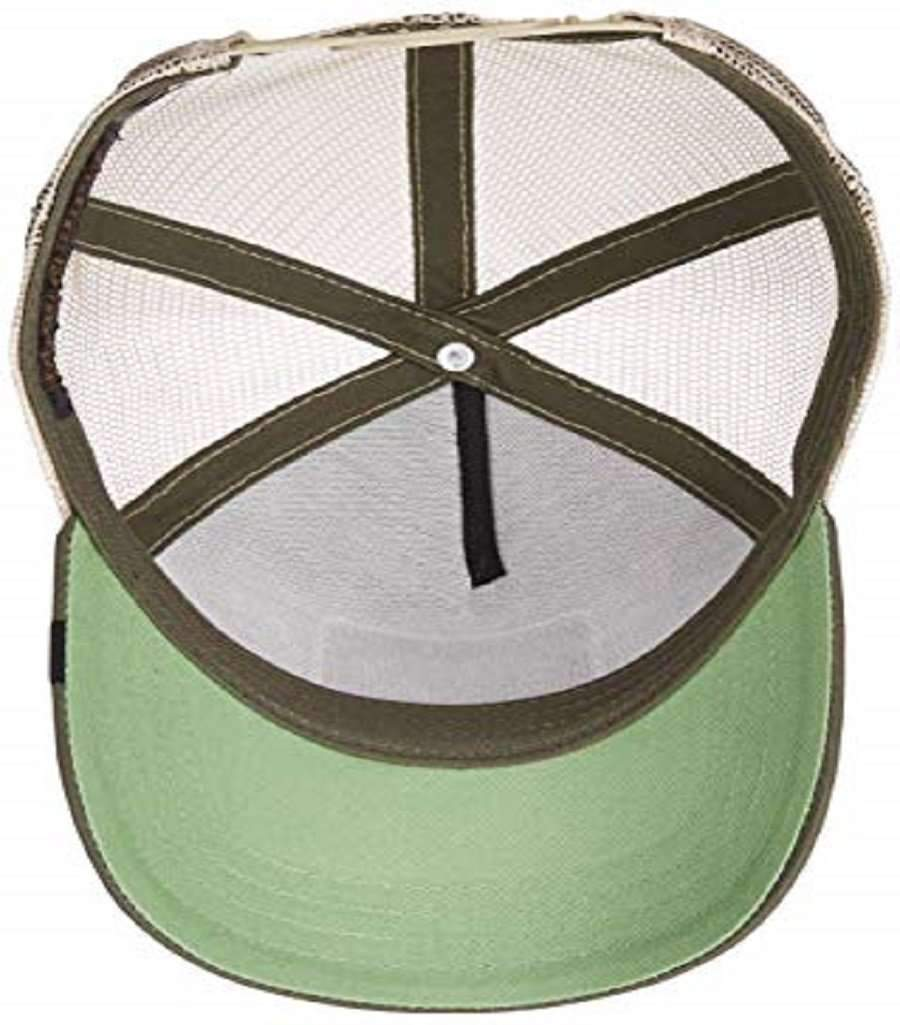 Goorin Men's Animal Farm Adjustable Brown Trucker Hat - 'Olive Crocodile' Accessories Umisfashion Store