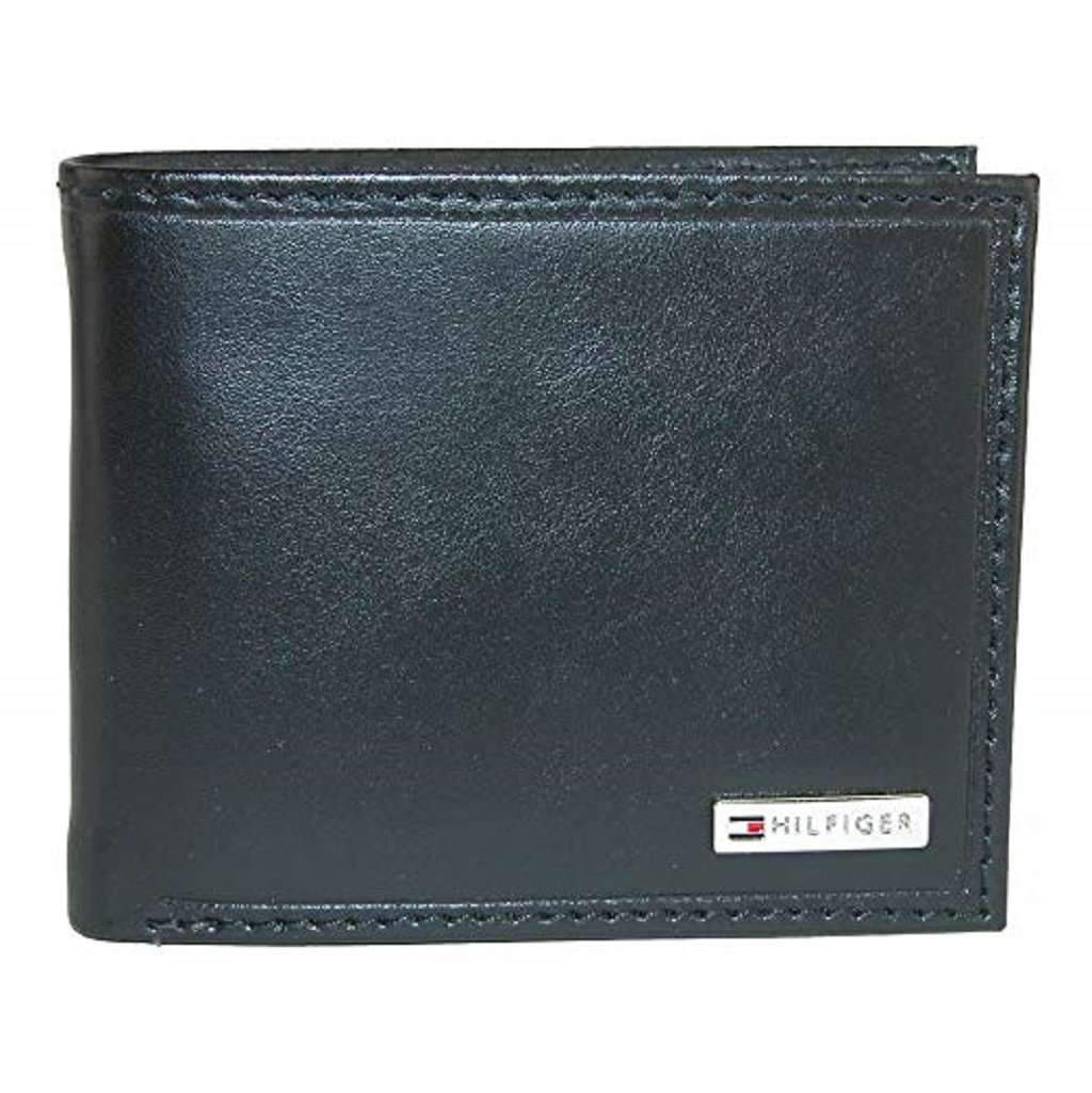 Tommy Hilfiger Men's Leather Bifold Wallet with Coin Pocket Accessories Umisfashion Store