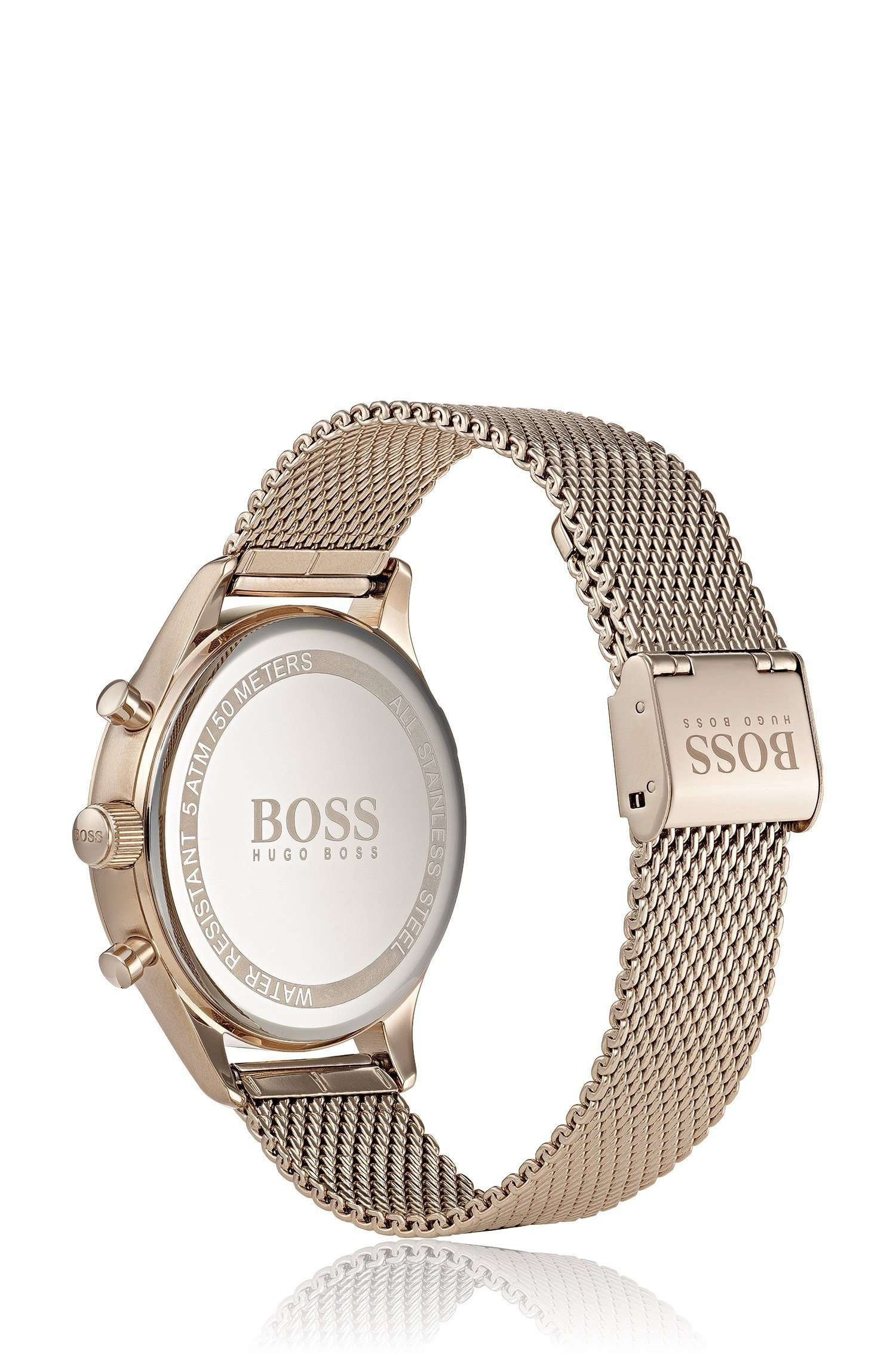 Hugo Boss HB 1513548 Men's Wrist Watch with Analog Display Steel Umisfashion Store