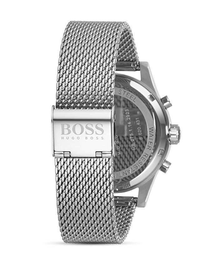 Boss JET Mesh 1513441 Mens Chronograph Design Metal Umisfashion Store