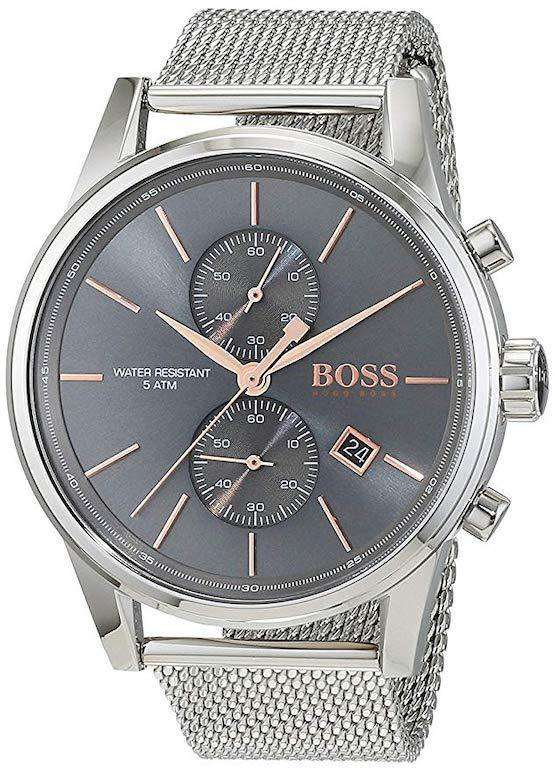 Boss JET Mesh 1513440 Mens Chronograph Design Metal Umisfashion Store
