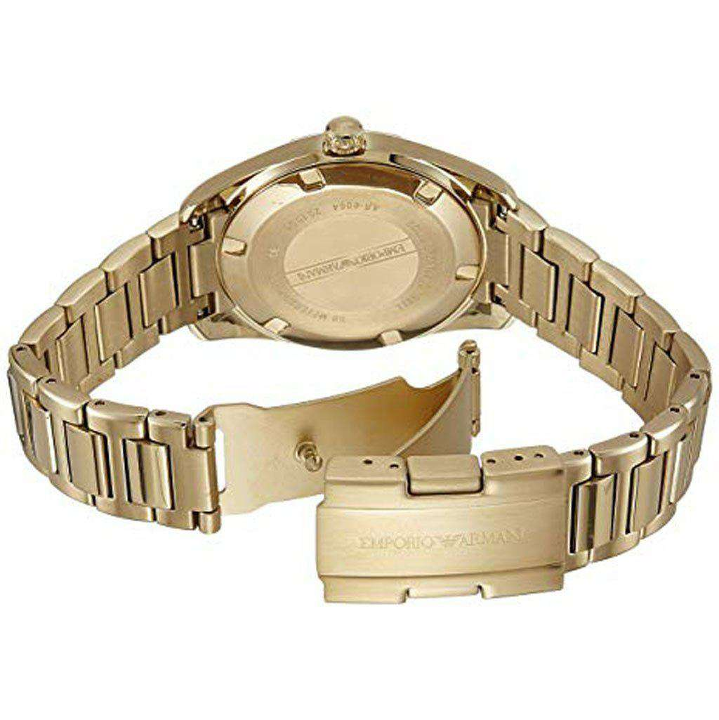Emporio Armani Women's AR 6064 Sport Gold-Tone Watch Steel Umisfashion Store