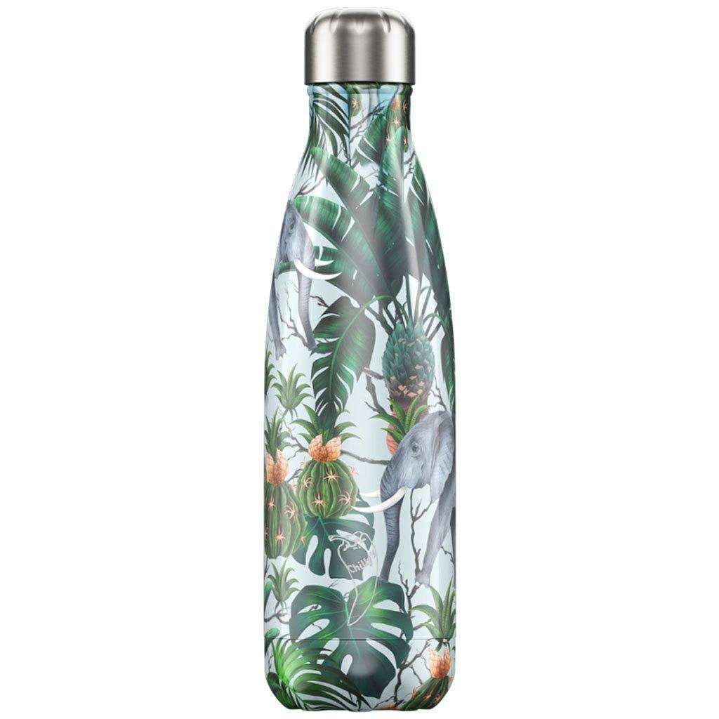 Chilly's Bottles - Reusable BPA-Free Stainless Steel Water Bottles (ELEPHANT) Steel Umisfashion Store