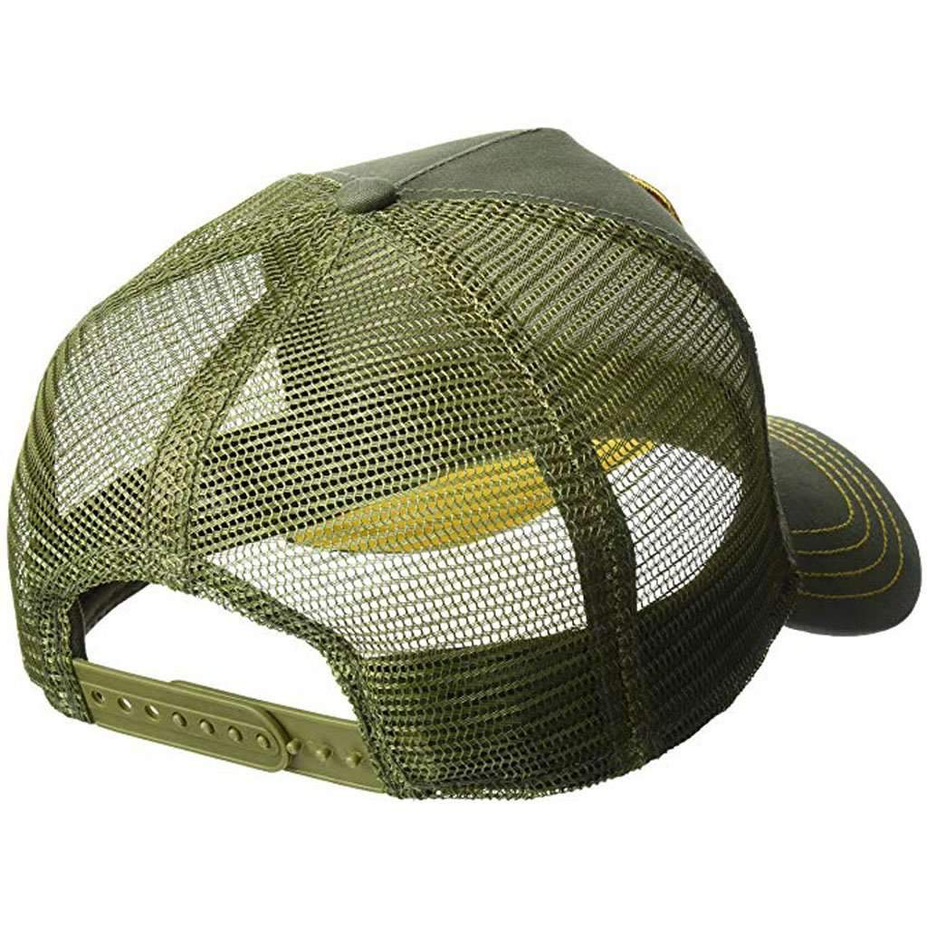 Goorin Men's Animal Farm Adjustable Brown Trucker Hat - 'Green Deer' Accessories Umisfashion Store