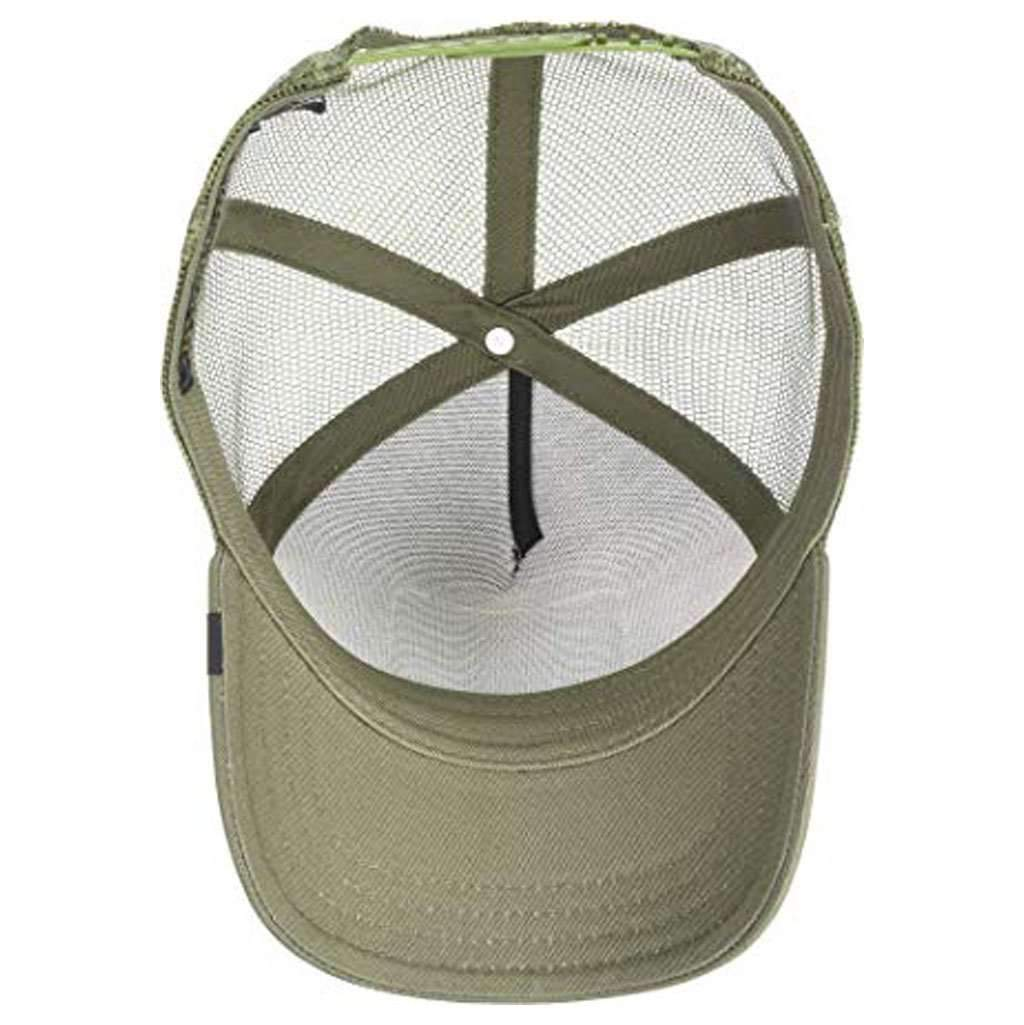 Goorin Men's Animal Farm Adjustable Brown Trucker Hat - 'Olive Elephant' Accessories Umisfashion Store