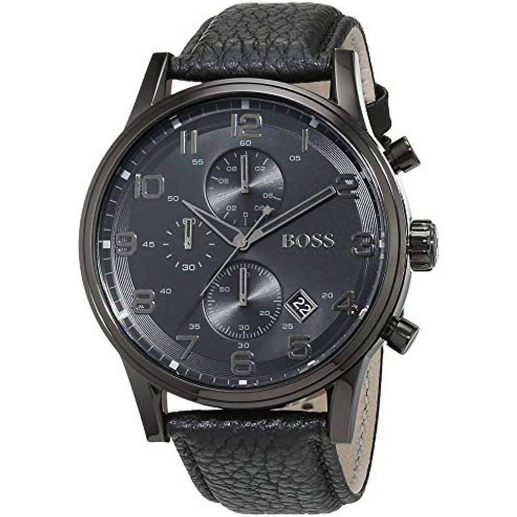 Hugo Boss HB 1512567 Hybrid Dial Chronograph Watch Steel Umisfashion Store
