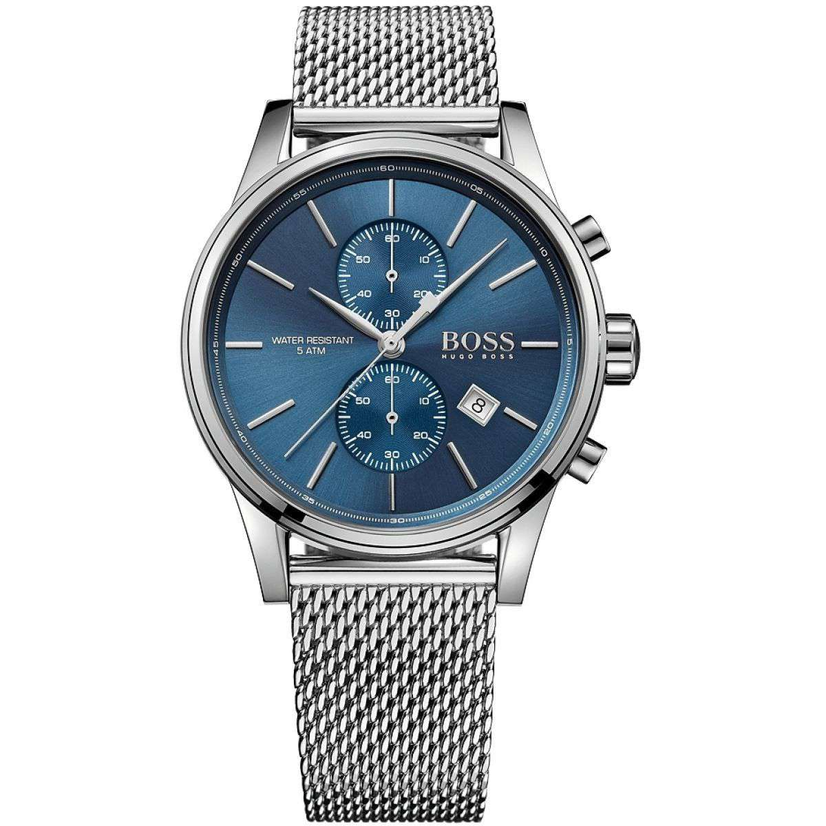 Hugo Boss Men's HB 1513441 Blue Dial Chronograph Watch Steel Umisfashion Store
