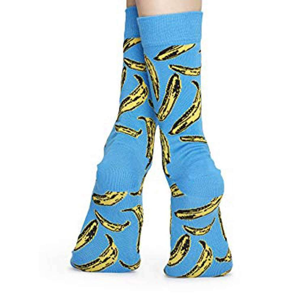 Happy Socks - Colorful Limited Edition Andy Warhol Cotton Socks Accessories Umisfashion Store