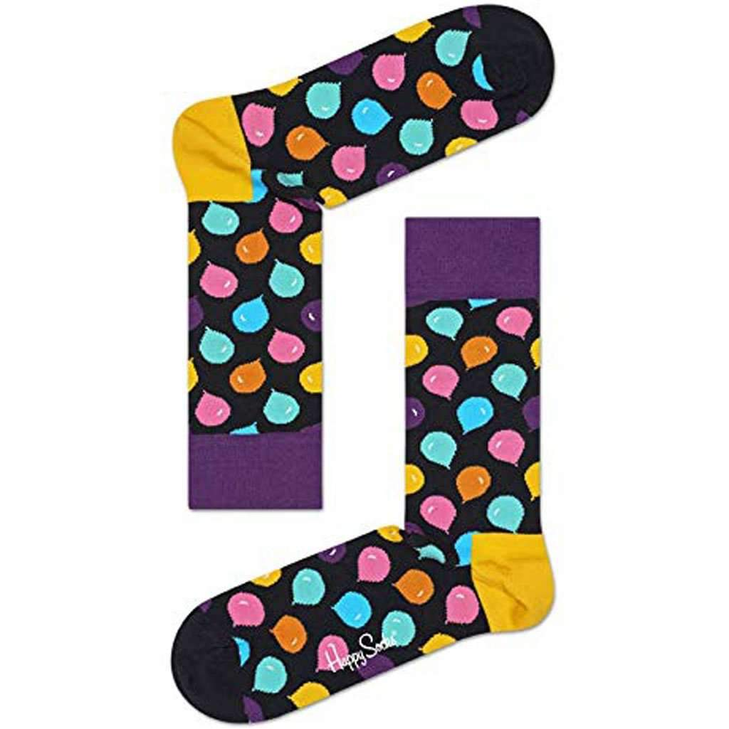 "Happy Socks – ""Party Animal"" Colorful Premium Cotton Sock With Gift Box Accessories Umisfashion Store"
