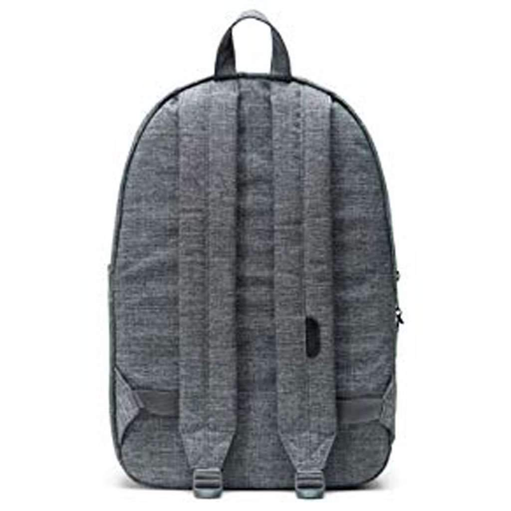 Herschel Settlement Backpack-Raven Crosshatch Leather Umisfashion Store