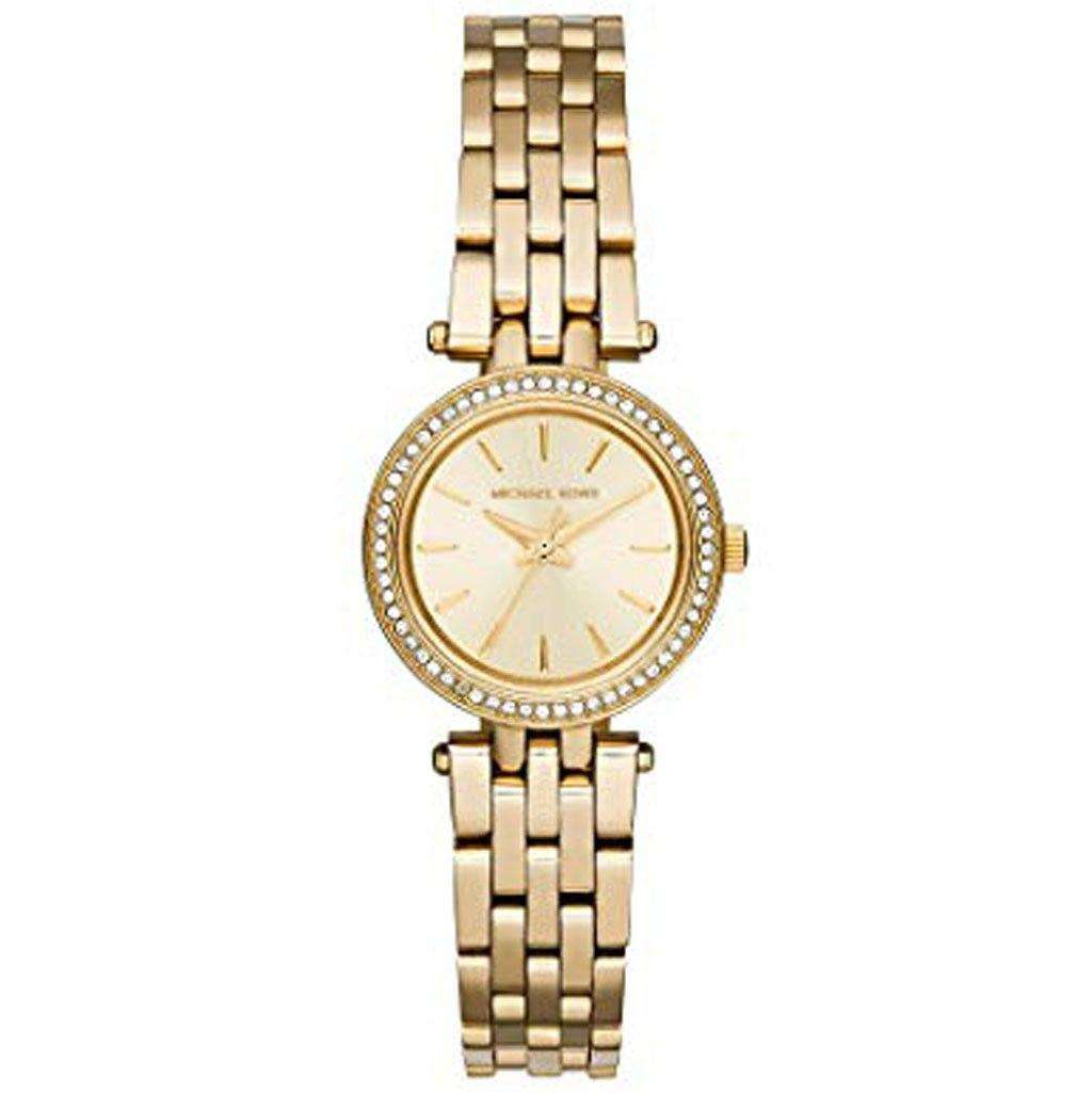 Michael Kors MK 3295 Petite Darci Gold-tone Watch Steel Umisfashion Store