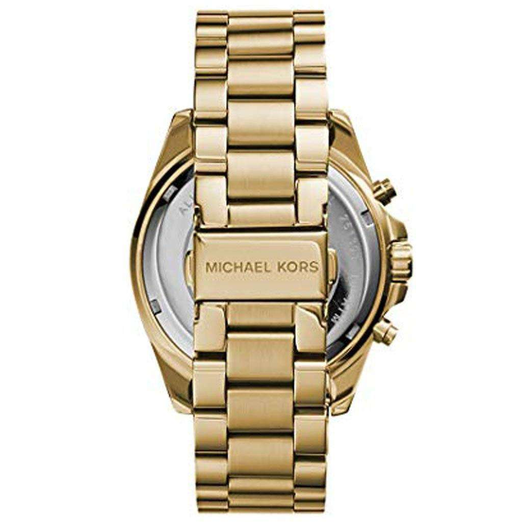 Michael Kors Women's MK 5605 Gold-Tone Watch Steel Umisfashion Store