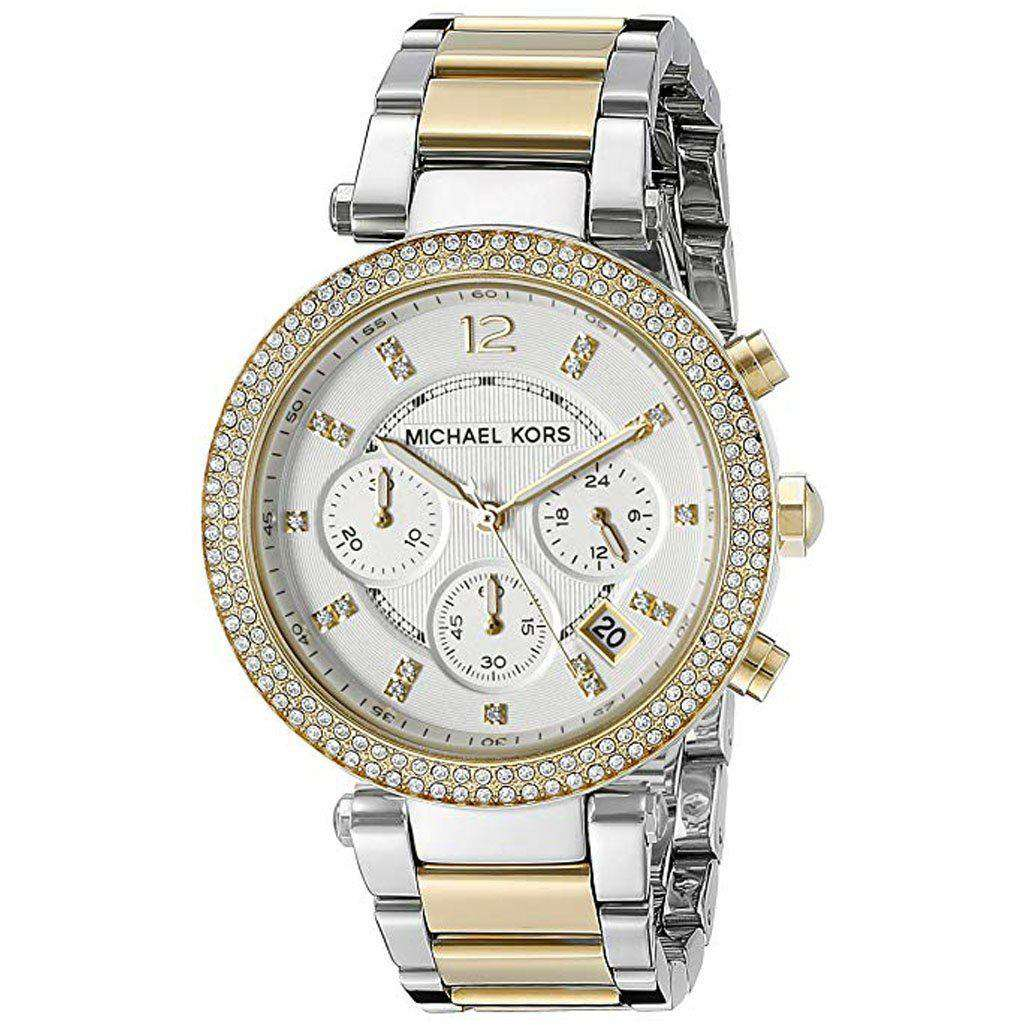 Michael Kors Women's MK 5626 Gold - Silver Parker Watch Steel Umisfashion Store