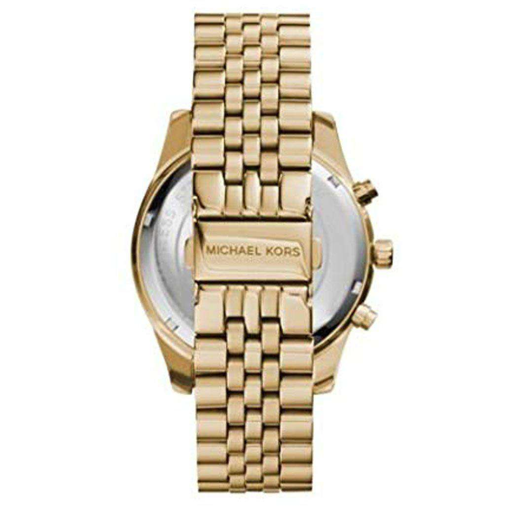 Michael Kors MK 8281 Lexington Gold-Tone Watch. Steel Umisfashion Store